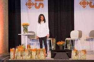 Golnaz Hashemzadeh är grundare och VD i Inkludera Invest, som bistår sociala entreprenörer som driver verksamheter för att motverka utanförskap. Foto: Sara Brehmer