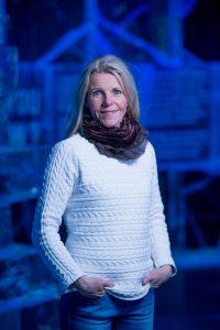 Åsa Ribbing ser intresset för Icehotel ständigt öka. Foto: Asaf Kliger