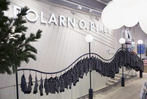 I Polarn O.Pyrets conceptstore i PK-Huset i Stockholm har det randiga arvet en central plats.  Foto: Polarn O.Pyret